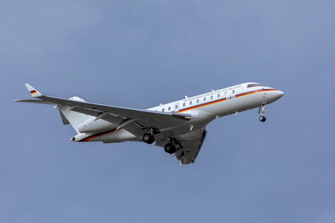 German Airforce BD-700 Global Express à Toulouse le 16 octobre 2019 ©