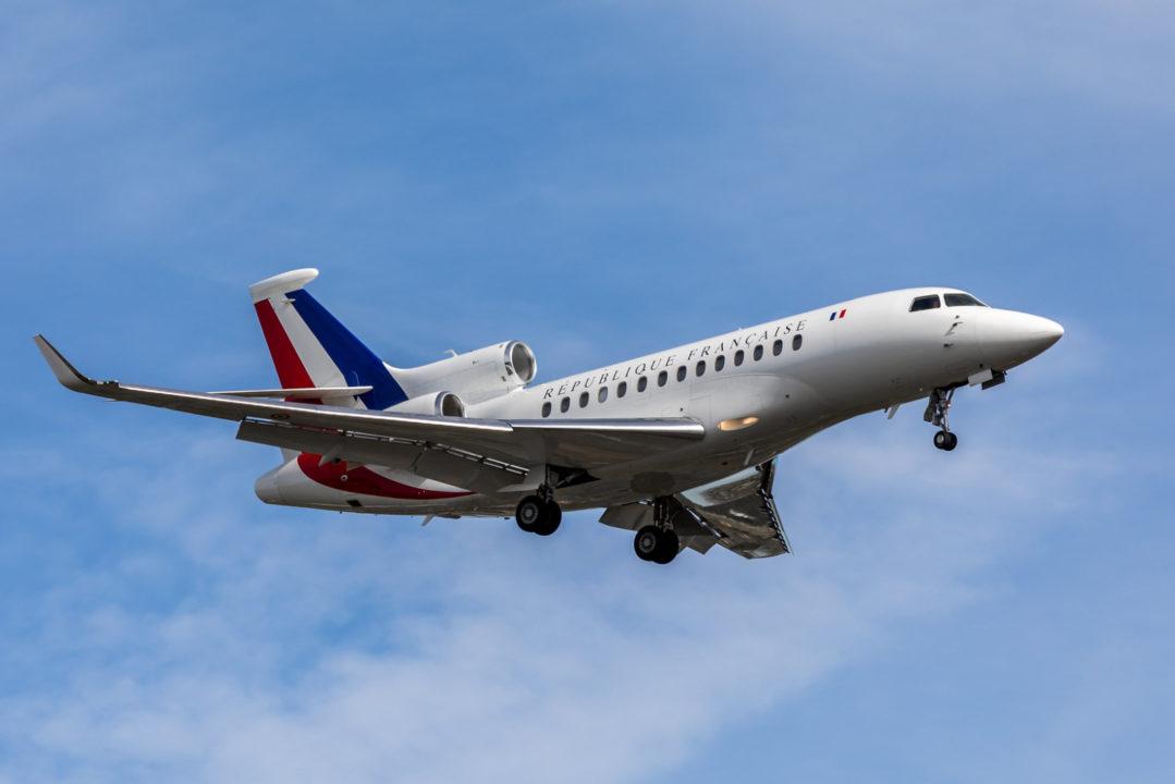 Falcon 7X République française à Toulouse le 16 octobre 2019