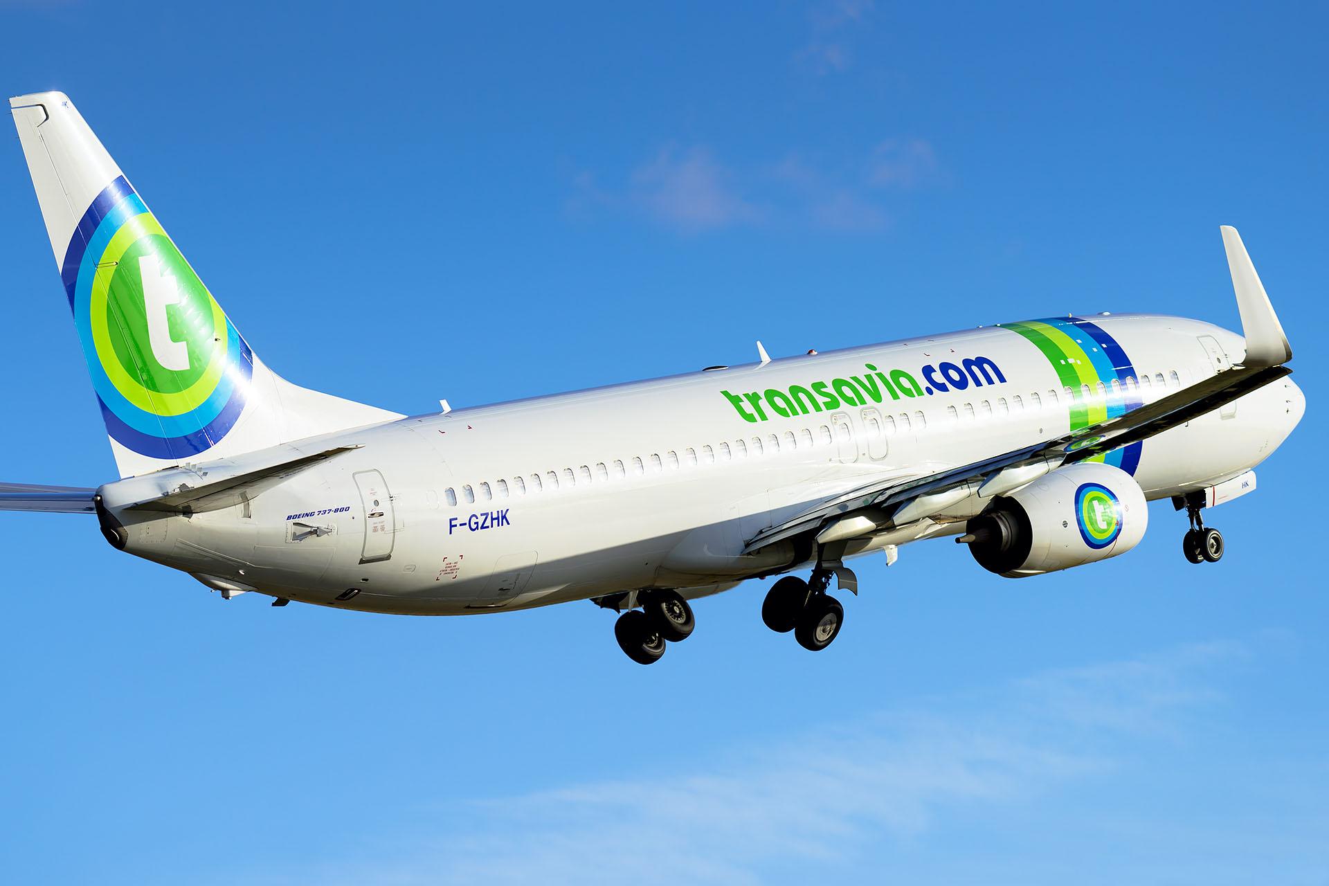 Boeing 737-800 Transavia / F-GZHK