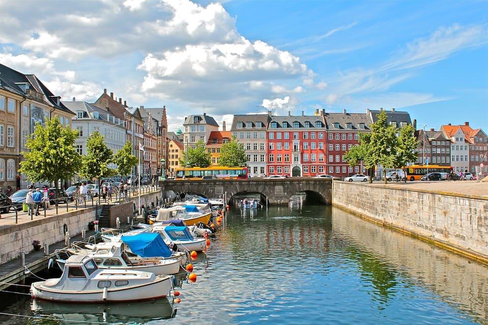 Copenhague, la capitale du Danemark