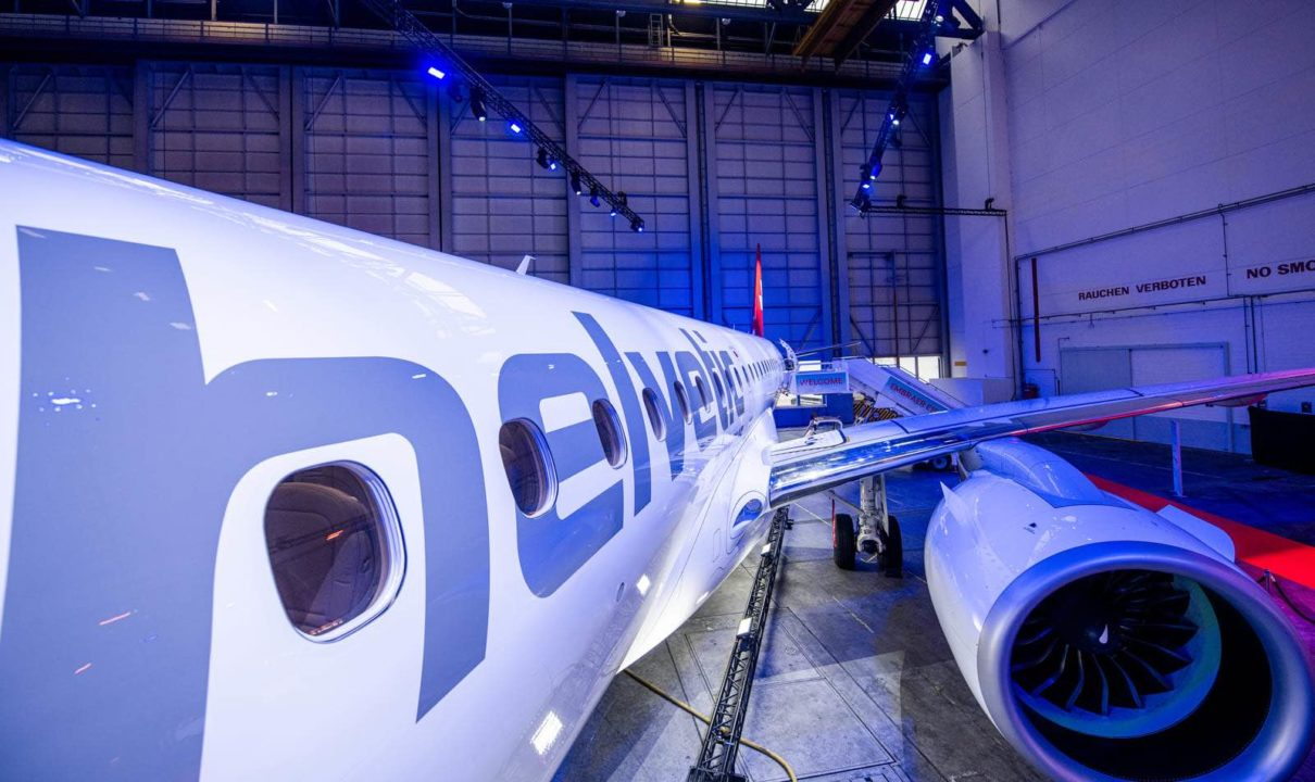 1er E190-E2 Helvetic HB-AZA à Zurich