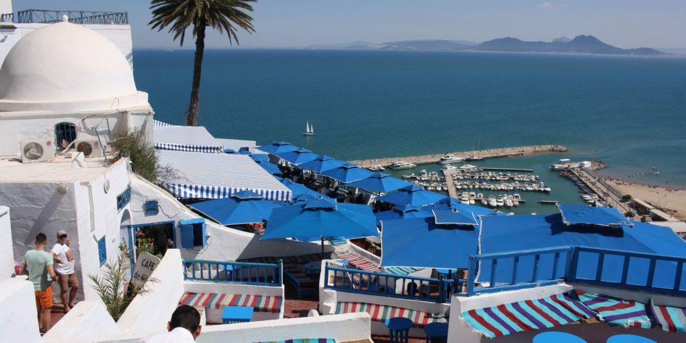 Quartier de Sidi Bou Said, à Tunis