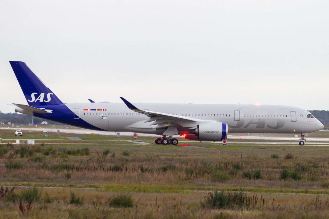 Airbus A350-941 SAS [cn 358 / F-WZHJ / SE-RSA]