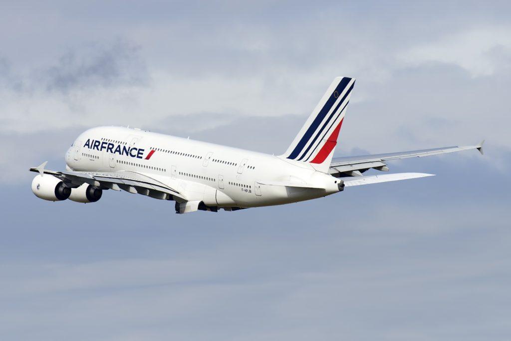 Air France A380 F-HPJB MSN40 en vol