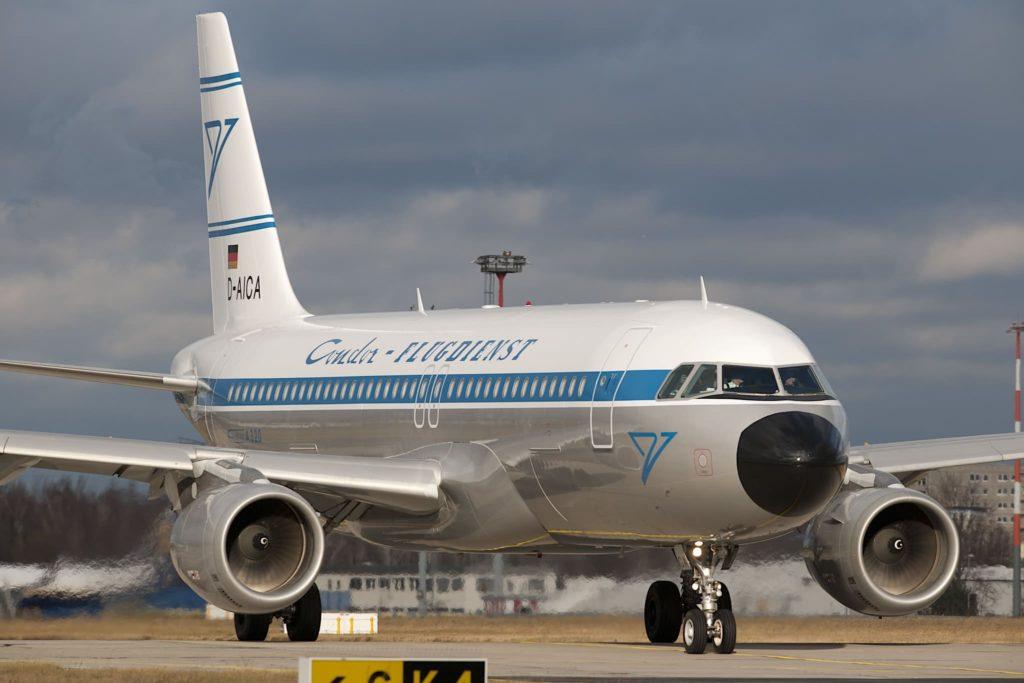 Airbus A320 Condor livrée rétro
