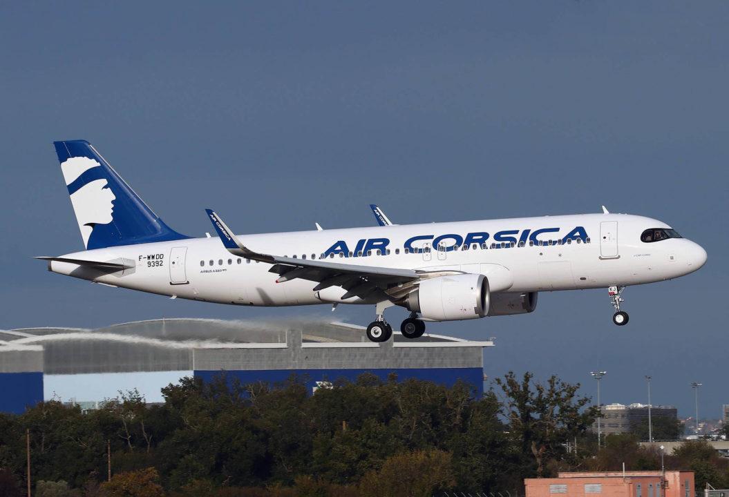 A320neo Air Corsica MSN9348 [F-WWDD] baptisé « U CAPI CORSU »