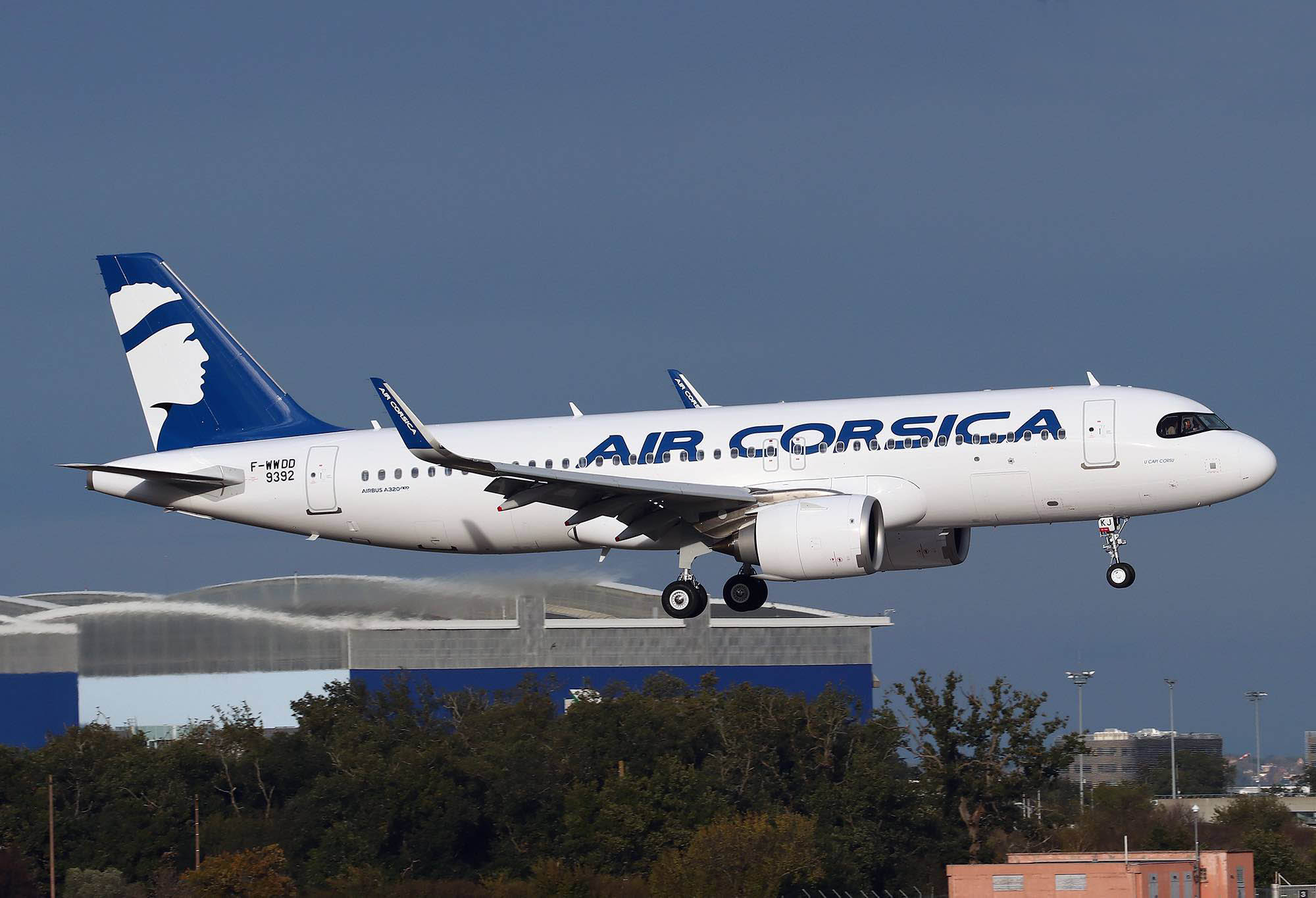 Resultado de imagen para Air Corsica  livraison A320neo