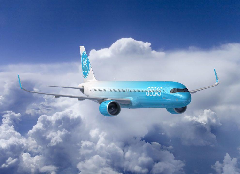 Airbus A321XLR GECAS