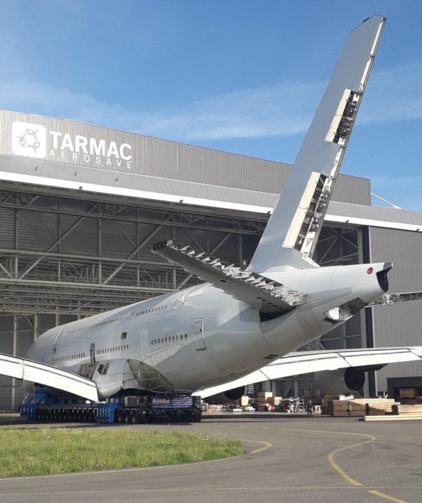 1er A380 déconstruit
