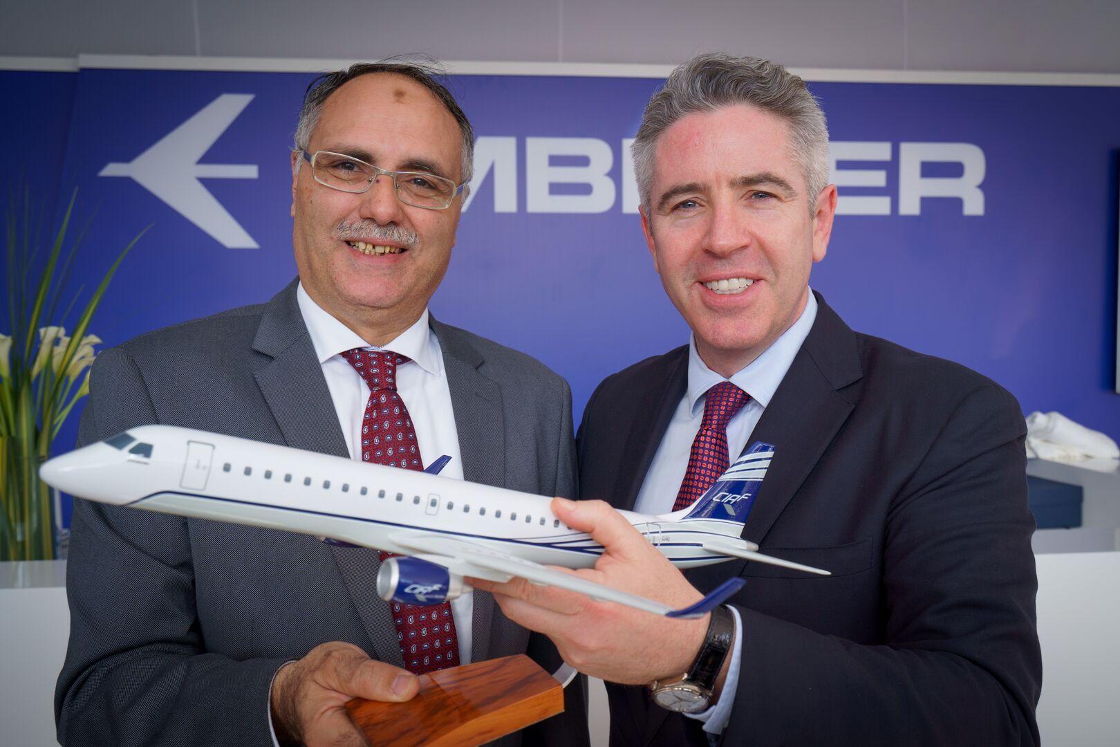 CIAF et Embraer à Dubaï 2019