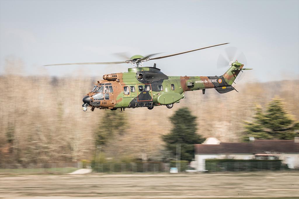Hélicoptère Cougar de l'Armée de Terre - Aérospatiale AS532