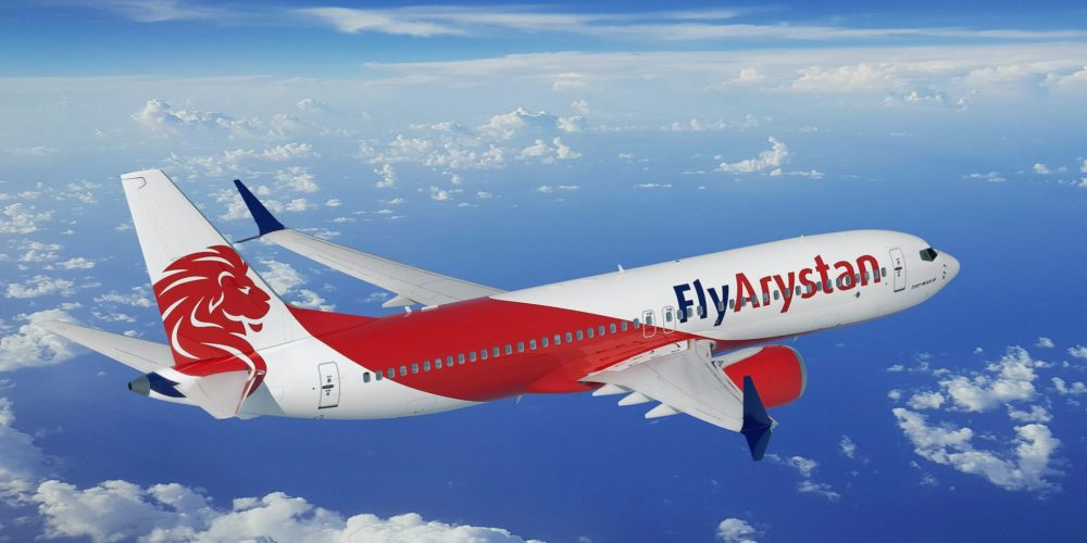 FlyArystan Boeing 737 MAX 8