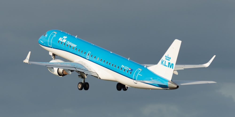 KLM Embraer E-170 PH-EZC