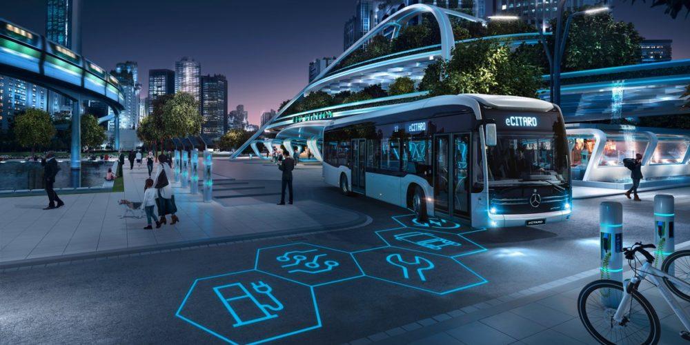 Bus 100% électriques eCitaro Mercedes