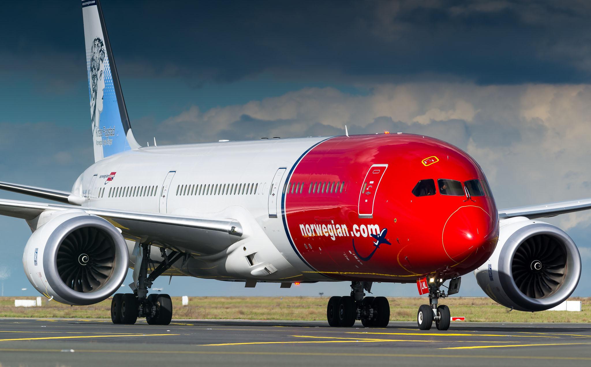 Boeing 787-9 Norwegian LN-LNL