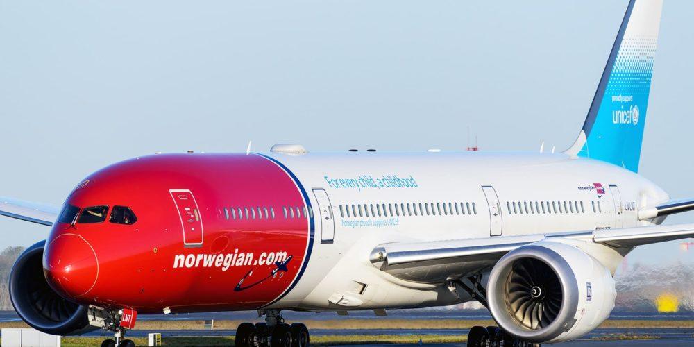 Boeing 787-9 Norwegian LN-LNT