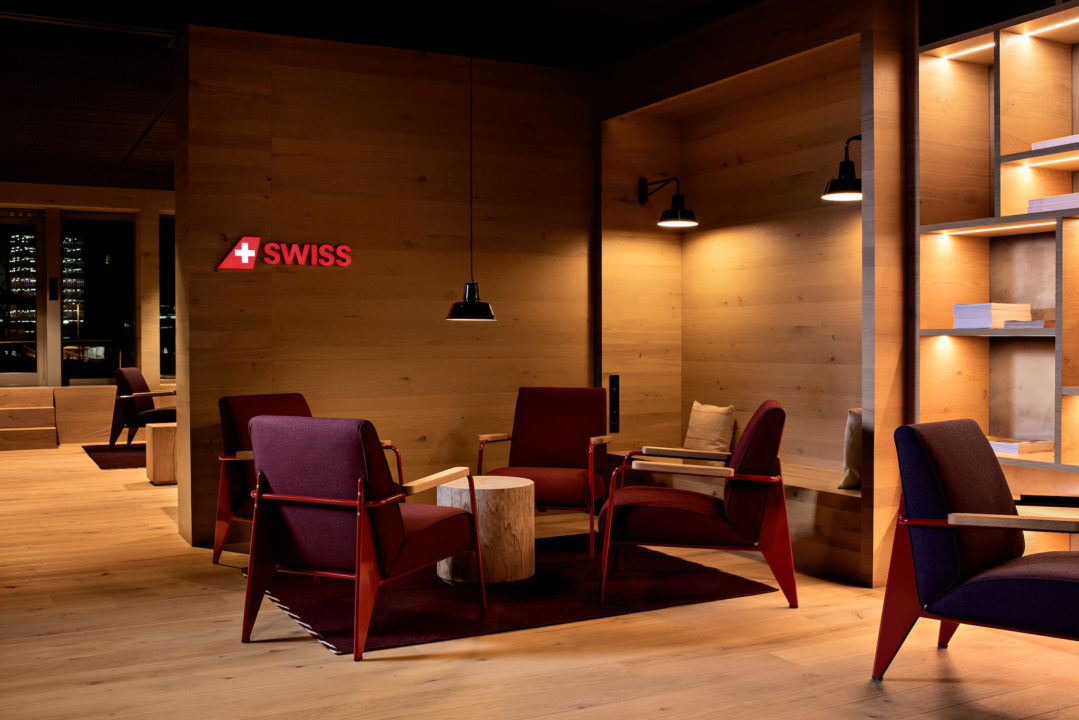 SWISS Alpine Lounge de Zurich