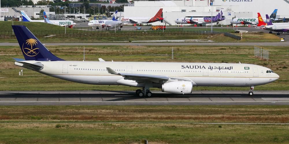 Airbus A330-343E Saudia HZ-AQ27 / s/n 1800