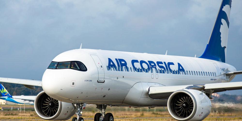 Airbus A320neo Air Corsica « U CAPI CORSU » [F-HXKJ /MSN9392]