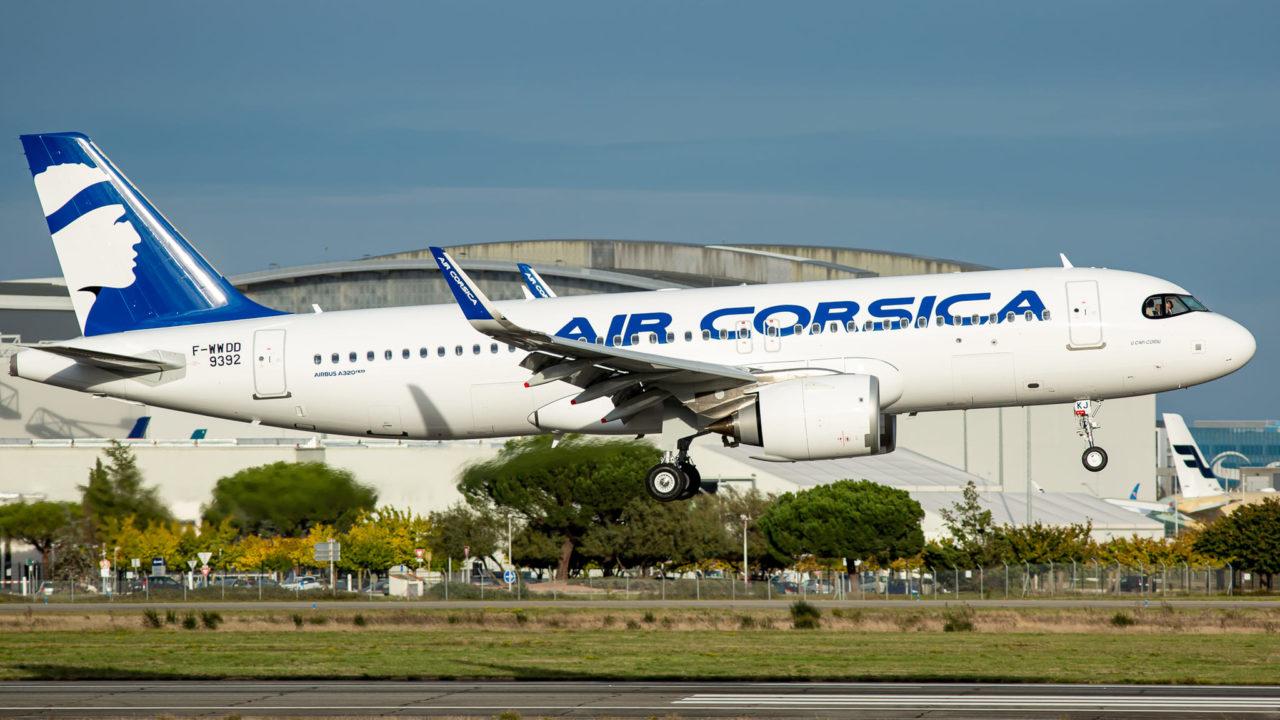 Airbus A320neo Air Corsica « U CAPI CORSU »[F-HXKJ /MSN9392]