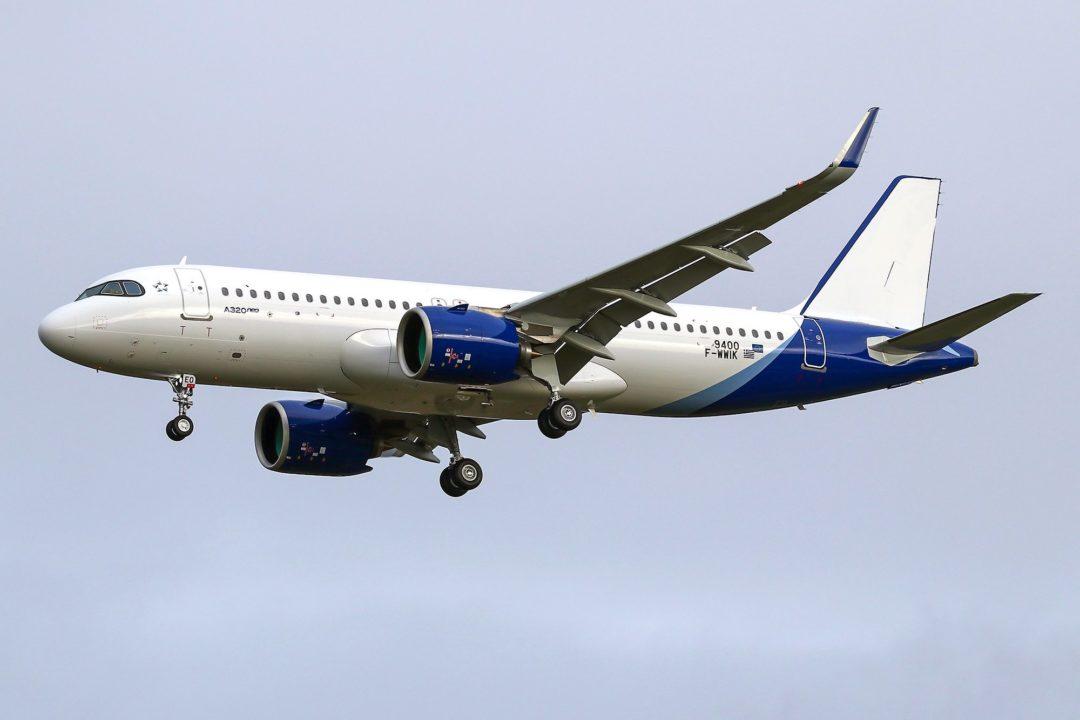 Airbus A320neo Aegean [s/n 9400]