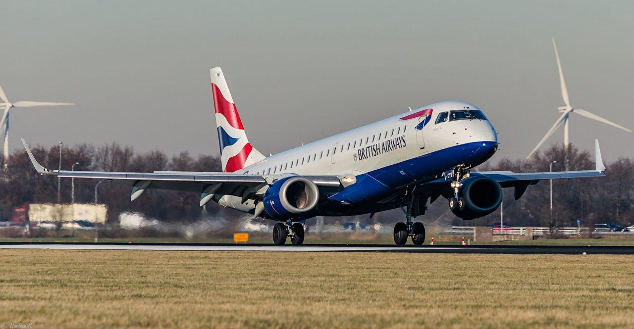 BA CityFlyer - Embraer ERJ-190SR G-LCYW
