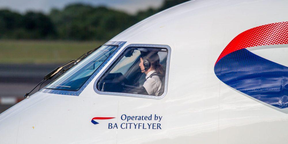 BA CityFlyer Embraer ERJ-190 G-LCYZ