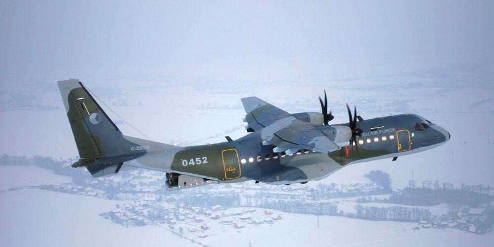 C295 de l'armée de l'air tchèque