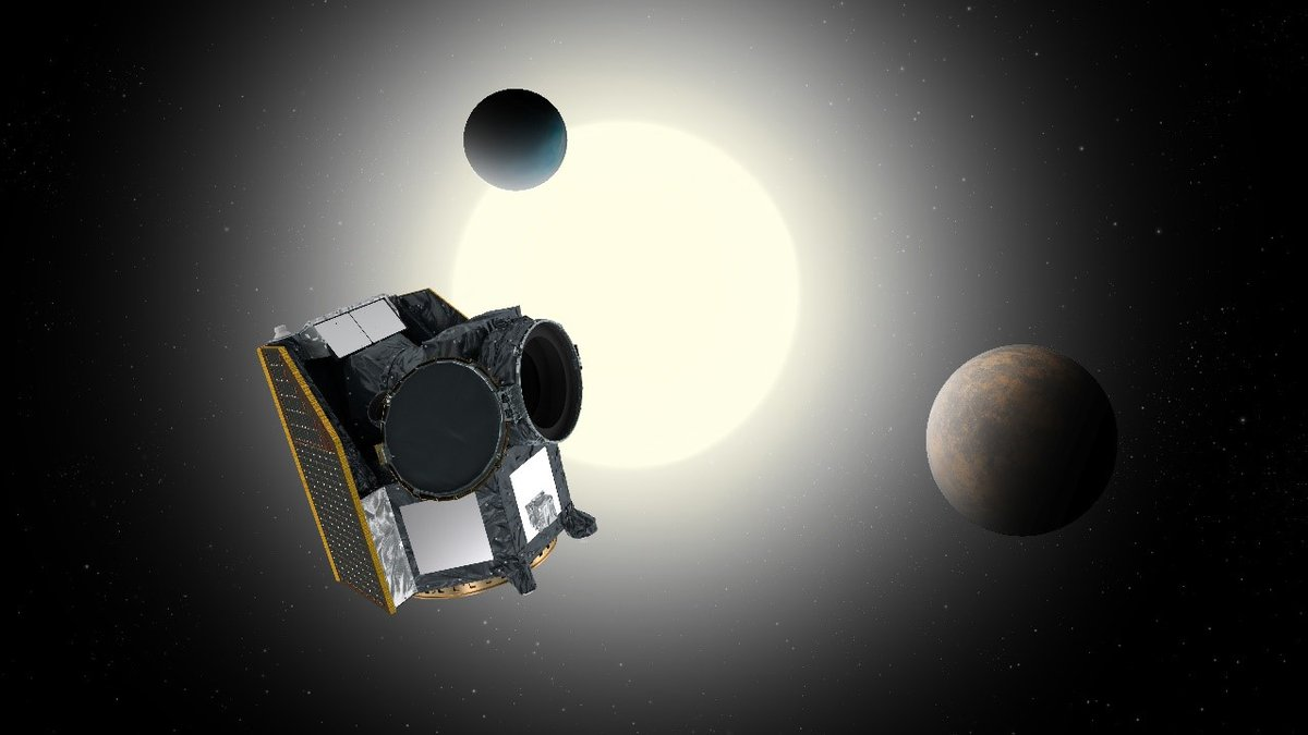 Le satellite CHEOPS (acronyme de CHaracterising ExOPlanets Satellite)