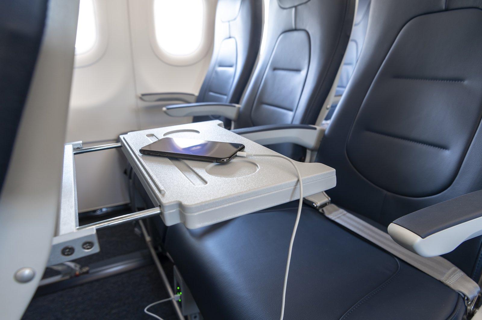 Sièges Essenza de l'A320neo Air Corsica