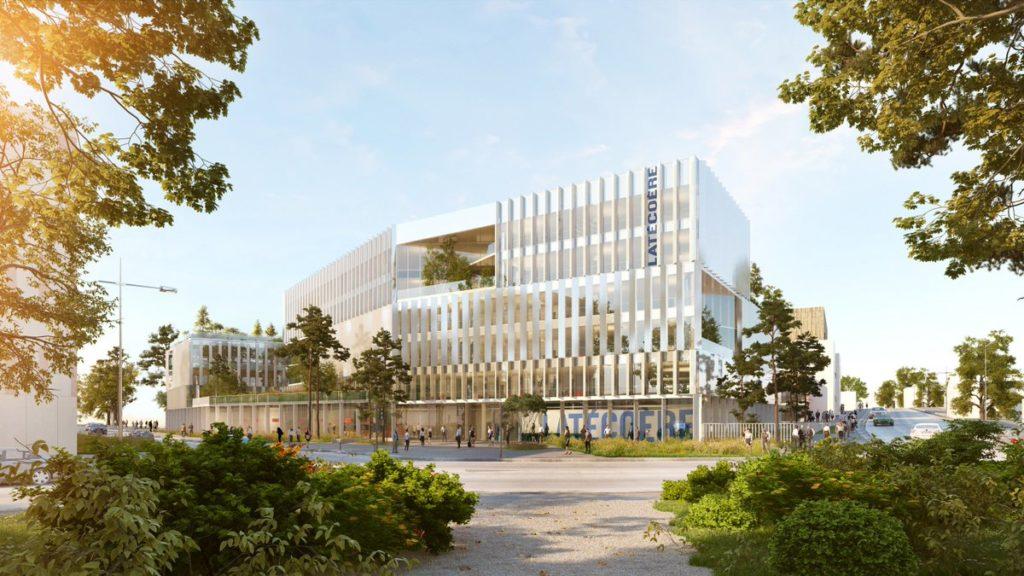 Futur siège social de Latécoère à Toulouse