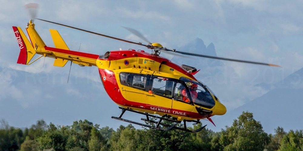 Sécurité Civile Ecureuil EC-145 Dragon 64