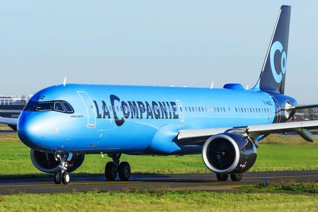 La Compagnie A321LR F-HBUZ