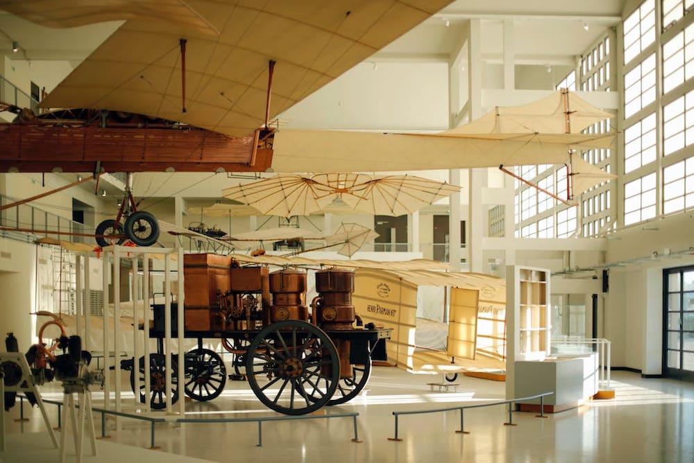 Cette nouvelle cénographie au Musée de l'Air et de l'Espace
