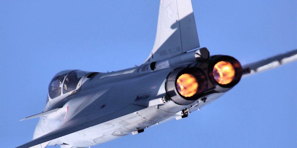 Rafale en vol au RIAT 2013
