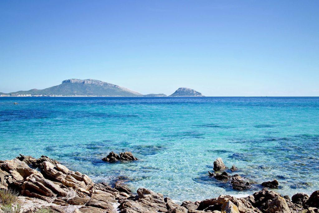 Plage de la côte Est de Sardaigne