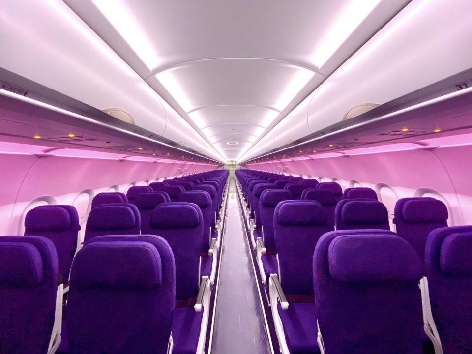 Sièges CL4710 en Economy à bord de l'A320neo Juneyao Air