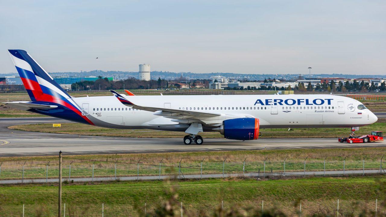 Airbus A350-941 Aeroflot [s/n 383 / VQ-BFY / F-WZGT]