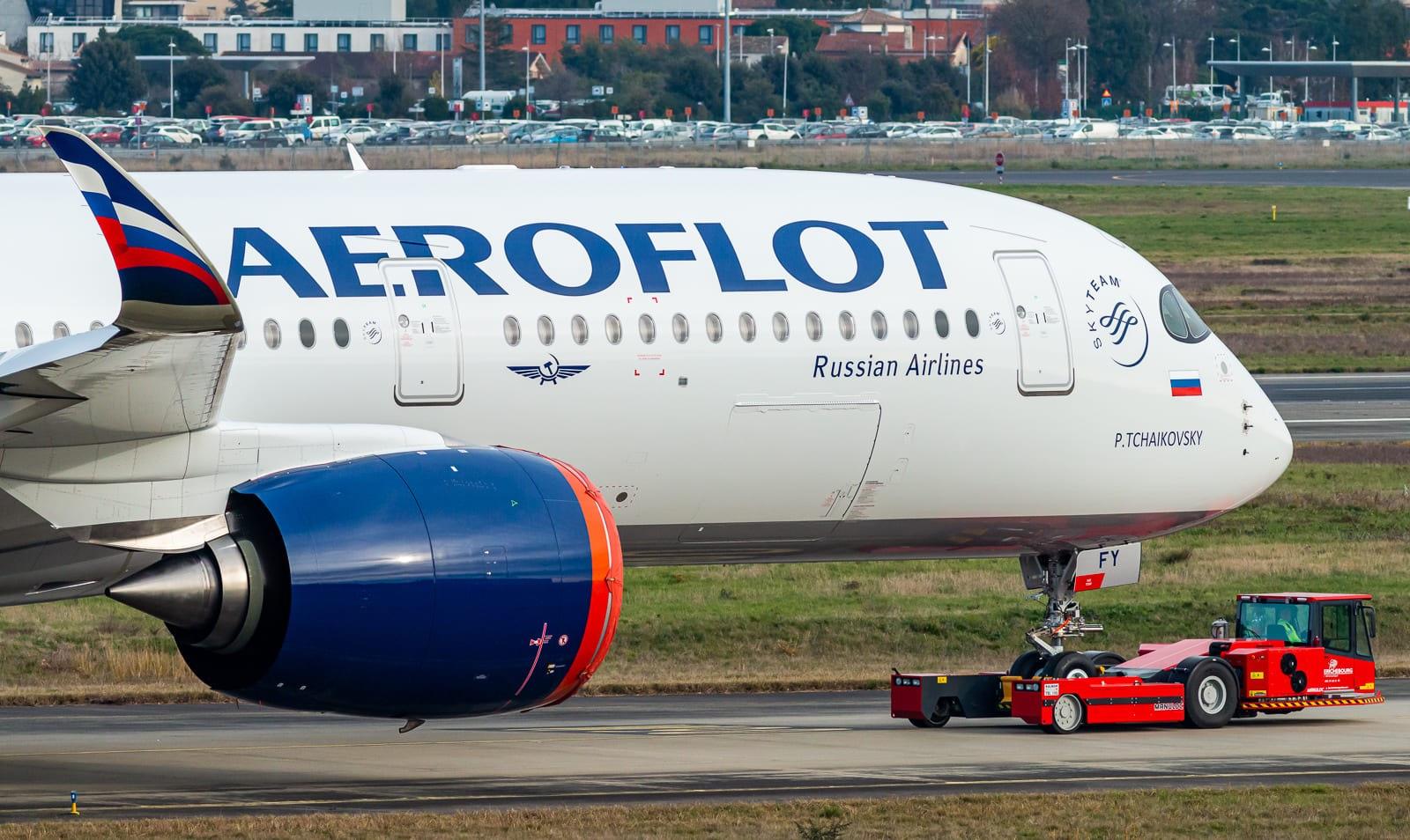 1er_Aeroflot_Airbus_A359_FP_TLS_Janv_202
