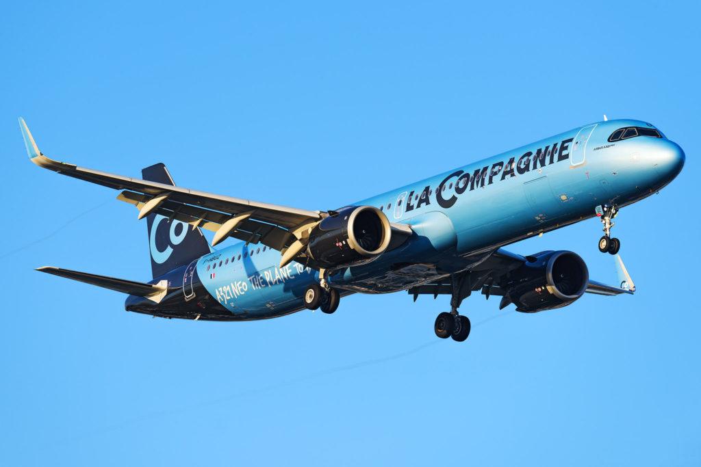 Airbus A321neo [F-HBUZ] La Compagnie