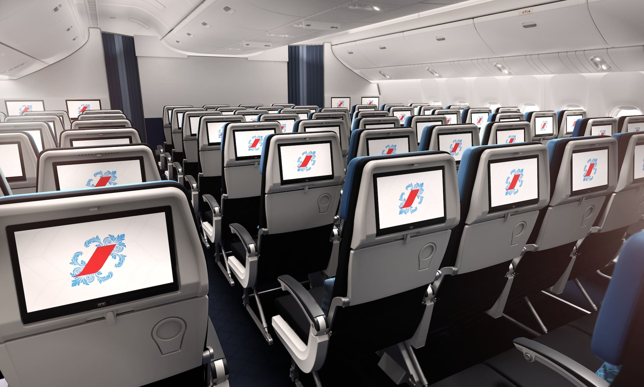 Nouvelle cabine Eco Boeing 777-300 « COI »