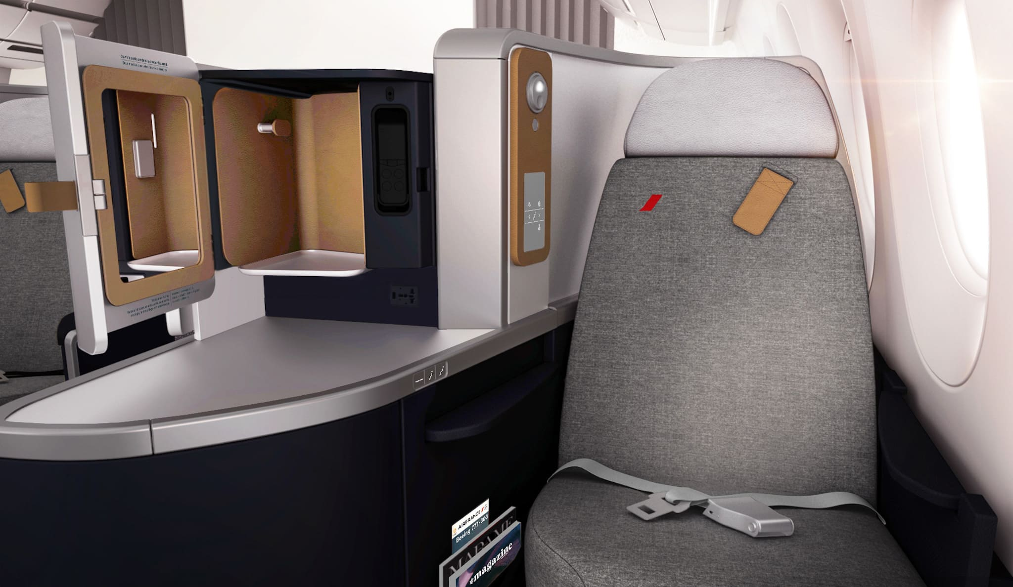 Nouvelle cabine Business Boeing 777-300 « COI »
