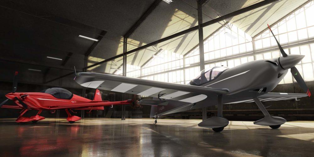 AURA AERO INTEGRAL S (rouge) et INTEGRAL R (gris)