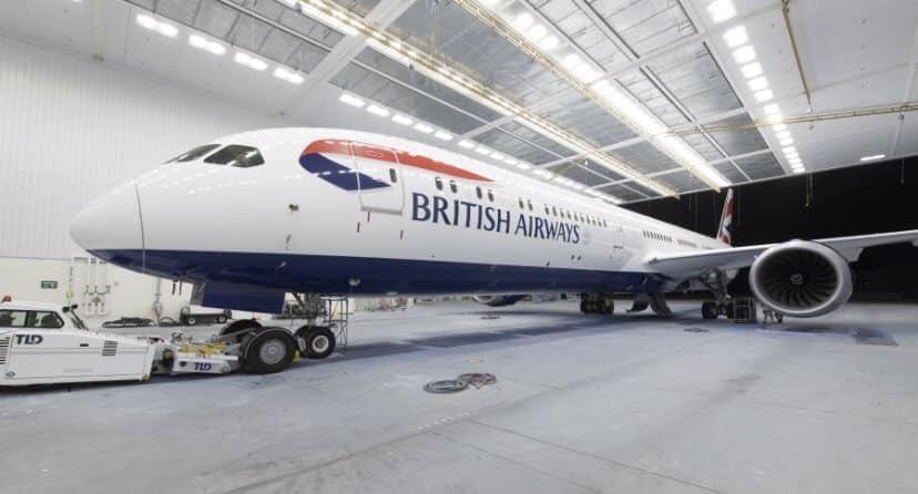 1er Boeing 787-10 Dreamliner British Airways