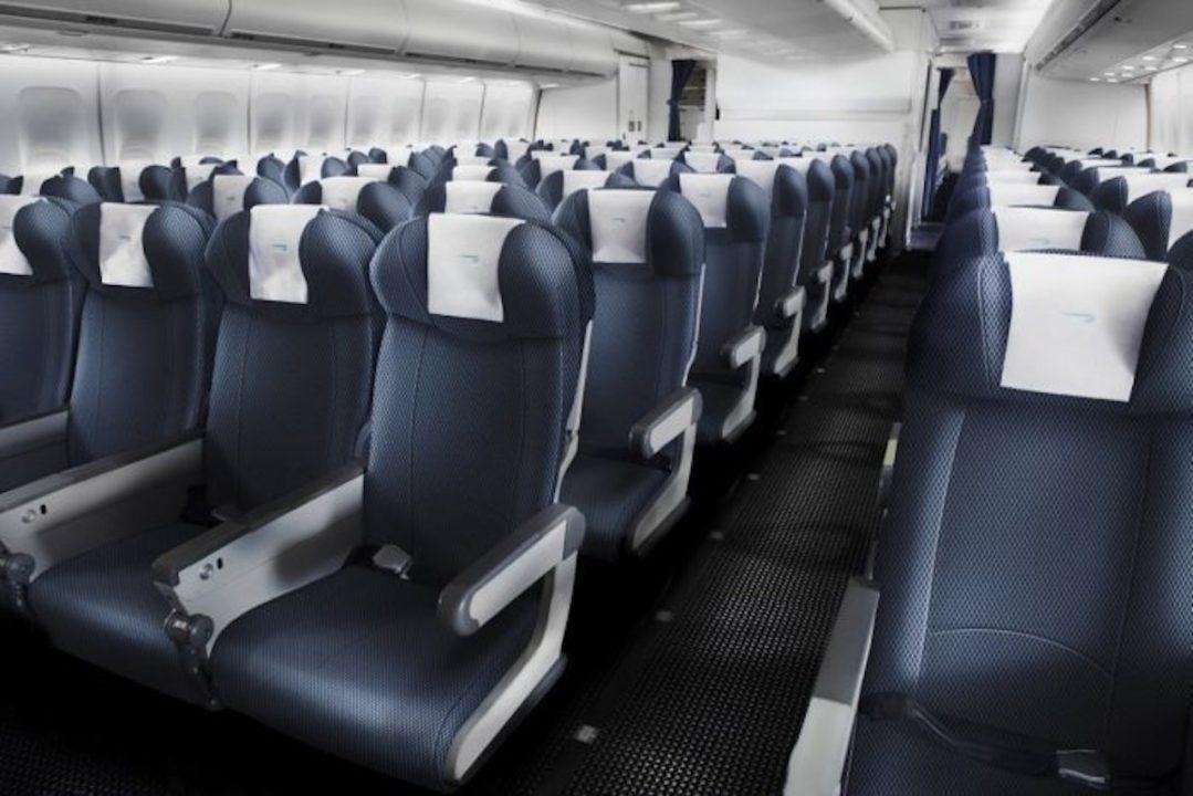 Sièges en classe Eco British Airways