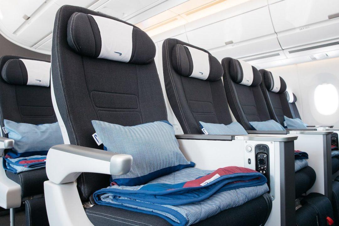 Siège Premium Eco « World Traveller Plus »