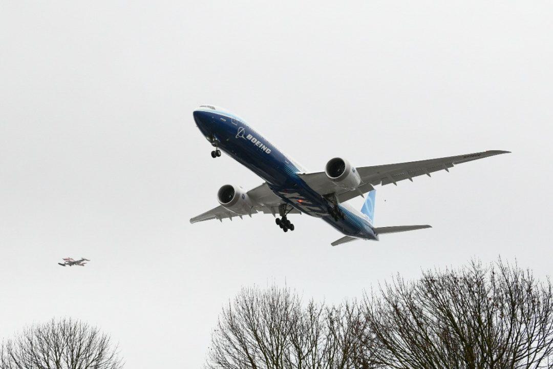 1er Boeing 777-9X [WH001] 1er vol 1er Boeing 777-9X [WH001] 1er vol