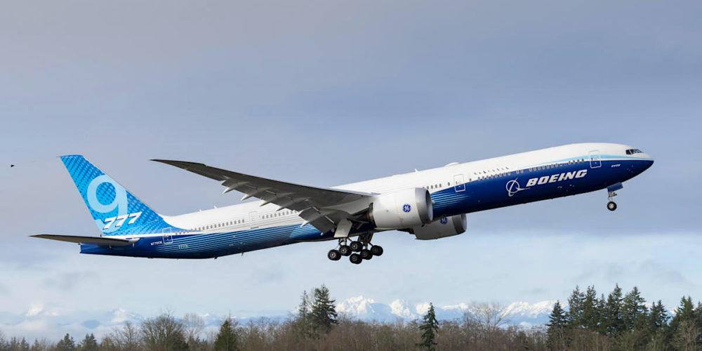 1er Boeing 777-9X [WH001] 1er vol