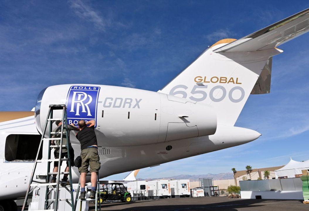Global 6500 moteur Pearl