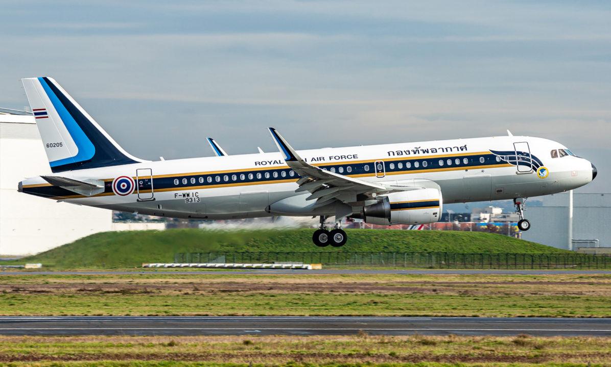 A320ceo Thai Air Force / MNS 9313